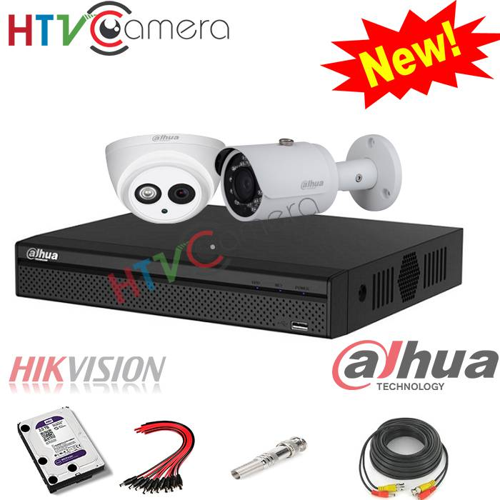 Bộ 1 camera HD 2.0 Dahua