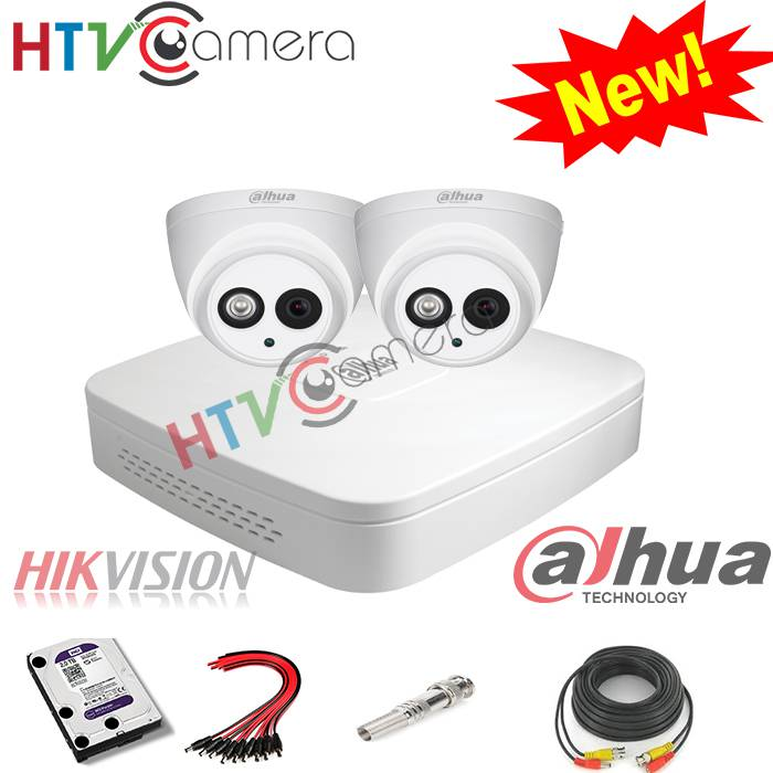 Bộ 2 camera HD 1.0 Dahua